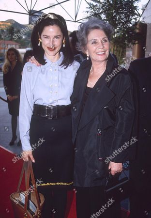 JEAN SIMMONS WITH DAUGHTER TRACY GRAINGER