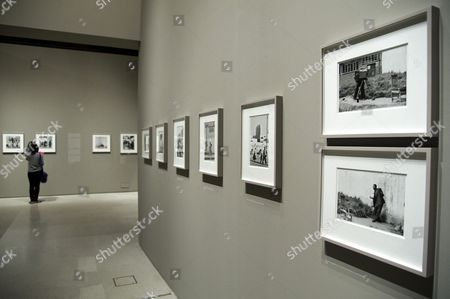Editorial image of 'Everything Was Moving: Photography from the 60s and 70s' exhibition at the Barbican Gallery, London, Britain - 12 Sep 2012