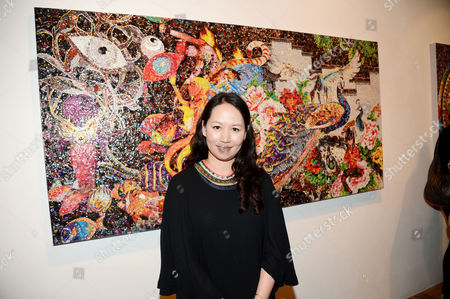 Editorial photo of Launch of new Gallery Space and Ye Hongxing Exhibition called The Modern Utopia, Scream Gallery, London, Britain - 12 Sep 2012