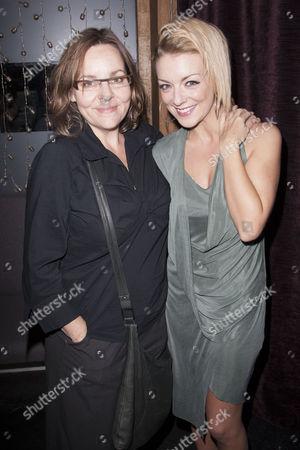 Anna Mackmin (Director) and Sheridan Smith (Hedda Gabler)