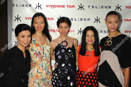 Editorial image of Vivienne Tam show, Spring Summer 2013, Mercedes-Benz Fashion Week, New York, America - 12 Sep 2012