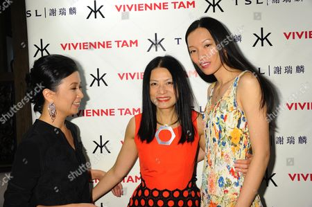 Editorial picture of Vivienne Tam show, Spring Summer 2013, Mercedes-Benz Fashion Week, New York, America - 12 Sep 2012
