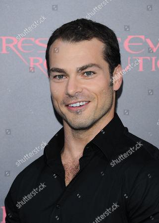 Editorial photo of 'Resident Evil: Retribution' film premiere, Los Angeles, America - 12 Sep 2012