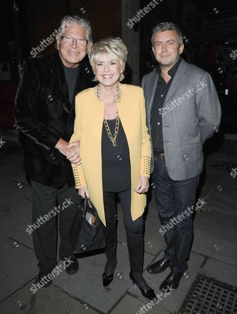 Stephen Way, Gloria Hunniford and Michael Keating