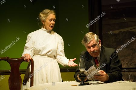 'Hindle Wakes' - Anna Carteret (as Mrs Hawthorn) and Peter Ellis (as Christopher Hawthorn)