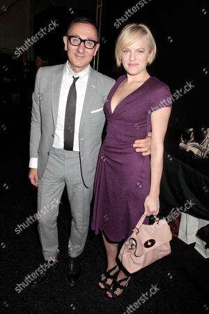 Gilles Mendel and Elisabeth Moss