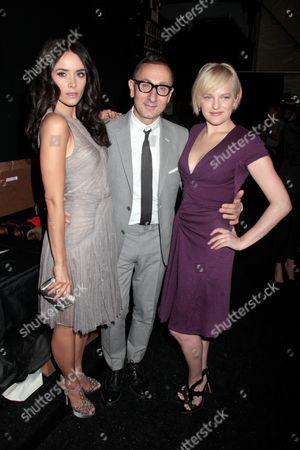 Abigail Spencer, Gilles Mendel and Elisabeth Moss