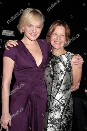Elisabeth Moss and Linda Moss