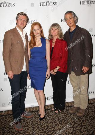 Dan Stevens, Jessica Chastain, Judith Ivey and David Strathairn