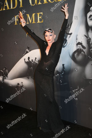 Editorial image of Lady Gaga 'Fame' Eau de Parfum Launch at the Guggenheim Museum, New York, America - 13 Sep 2012
