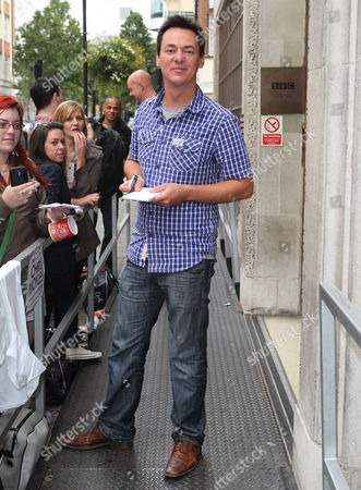 Editorial photo of Celebrities outside BBC Radio 1 studios, London, Britain - 14 Sep 2012
