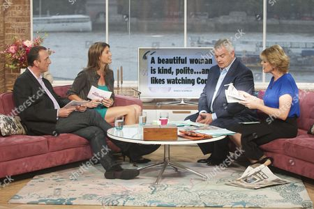 Ian Royce and Liz Fraser with Eamonn Holmes and Ruth Langsford