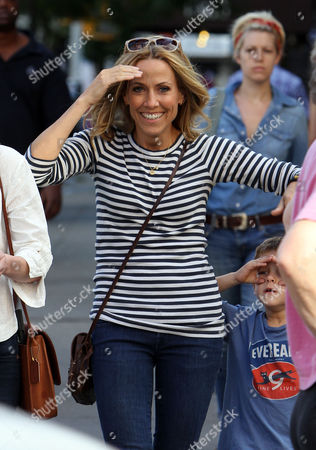 Editorial picture of Sheryl Crow out and about in New York, America - 10 Sep 2012