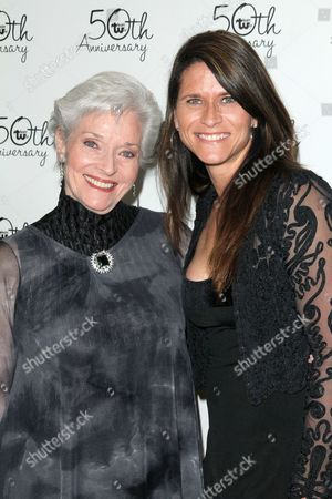 Stock Picture of Lee Meriwether and Lesley Aletter