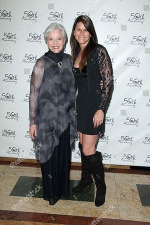 Stock Image of Lee Meriwether and Lesley Aletter