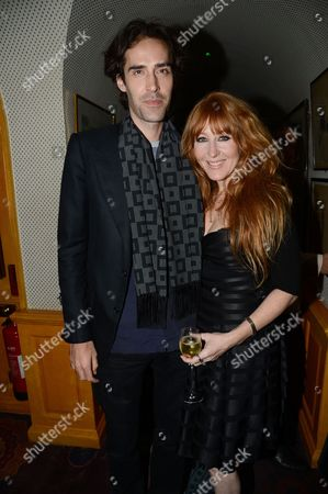 Stock Photo of Charles Forbes and Charlotte Tilbury