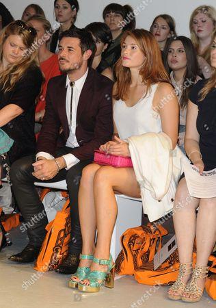 Stock Photo of Gemma Arterton and husband Stefano Catelli