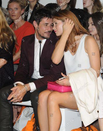 Stock Image of Gemma Arterton and husband Stefano Catelli