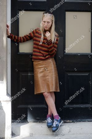 Editorial photo of Street style, Spring Summer 2013, London Fashion Week, Britain - Sep 2012