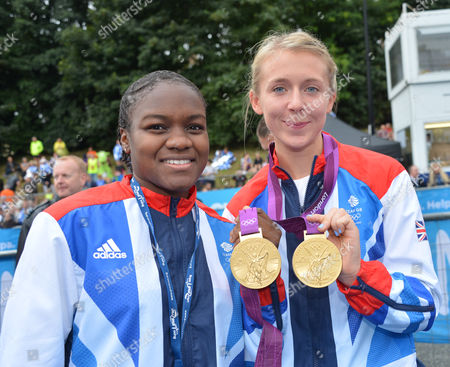 Nicola Adams and Katherine Copeland