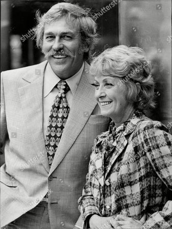 Actor Howard Keel And Actress Danielle Darrieux Who Are To Star In The New Musical 'ambassador'.