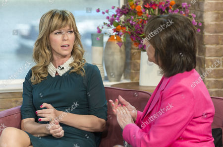 Kate Garraway and Liz Hodgkinson