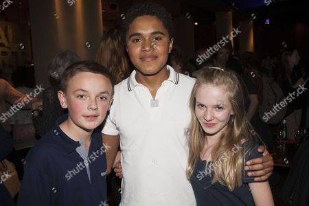 Stock Image of Billy Matthews (Cast), Josh Williams (Cast) and Nell Williams (Cast)