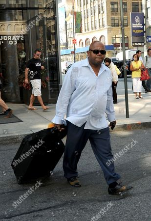 Editorial image of Charles Dutton out and about in New York, America - 13 Sep 2012