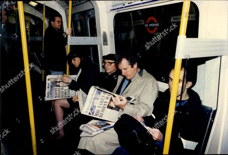 William Waldegrave On The Tube.