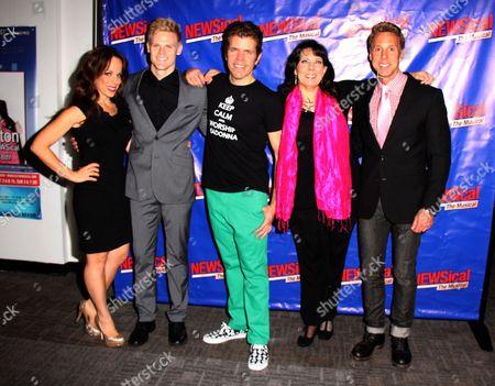 Tommy Walker, Leslie Kritzer, Perez Hilton, Christine Pedi, Michael West