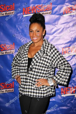 Editorial image of 'NEWSical The Musical' opening night at the Kirk Theatre, New York, America - 17 Sep 2012