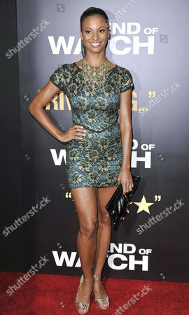 Editorial photo of 'End Of Watch' film premiere, Los Angeles, America - 17 Sep 2012
