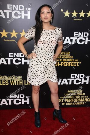 Editorial image of 'End Of Watch' film premiere, Los Angeles, America - 17 Sep 2012