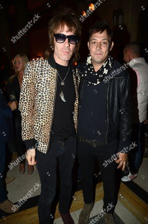 Jay Mehler and Jamie Hince