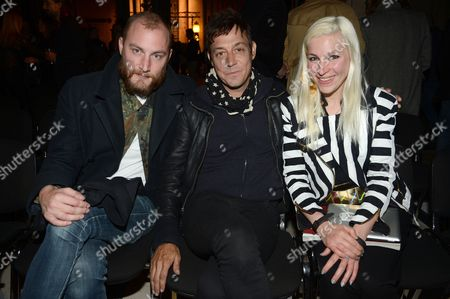 James Small, Jamie Hince and Fred Butler