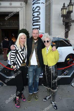 Editorial image of 'ADAM Journeys' film screening, London, Britain - 18 Sep 2012