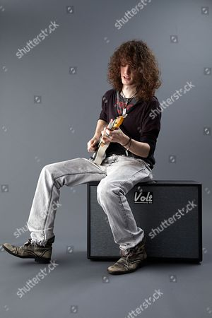Bath United Kingdom - March 26: British Blues Guitarist And Singer-songwriter Oli Brown Photographed During A Portrait Shoot For Guitarist Magazine March 26