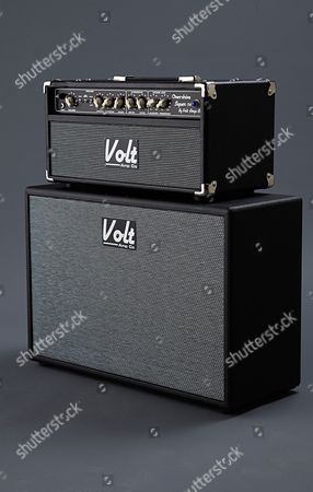 Bath United Kingdom - March 26: A Volt Amp Co Super Overdrive Electric Guitar Amplifier Owned By British Blues Guitarist And Singer-songwriter Oli Brown Photographed During A Shoot For Guitarist Magazine March 26