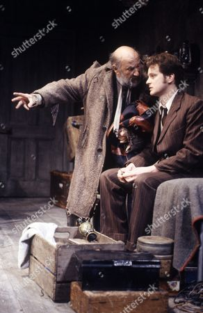 'The Caretaker'  - Donald Pleasence and Colin Firth