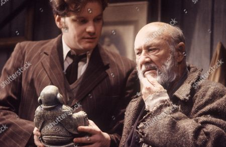 'The Caretaker'  - Colin Firth and Donald Pleasence