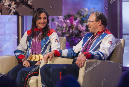 Stock Picture of Sarah Storey and Barney Storey