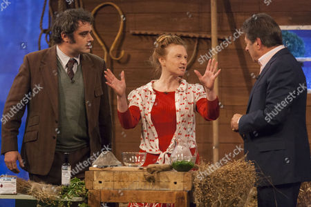 Stock Picture of Peter Ginn, Ruth Goodman and Alan Titchmarsh