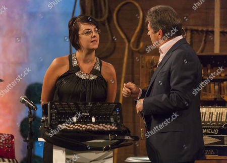 Stock Image of Larisa Bodell and Alan Titchmarsh