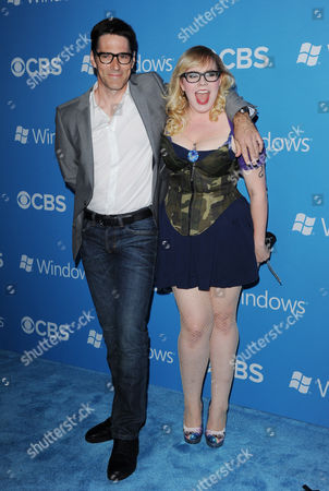 Thomas Gibson and Kirsten Vangsness
