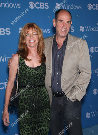 Stock Image of Lori Weintraub and Miguel Ferrer