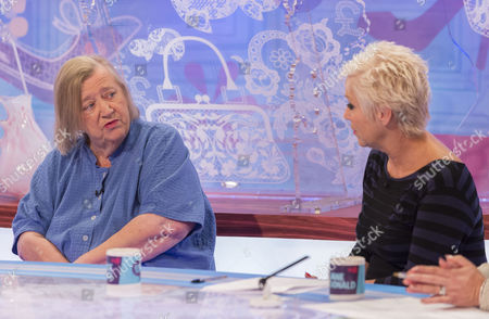 Clarissa Dixon Wright and Denise Welch