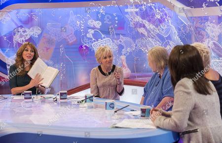 Stock Image of Carol Vorderman, Lisa Maxwell, Clarissa Dixon Wright, Denise Welch and Jane McDonald