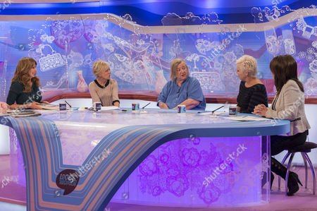 Stock Picture of Carol Vorderman, Lisa Maxwell, Clarissa Dixon Wright, Denise Welch and Jane McDonald