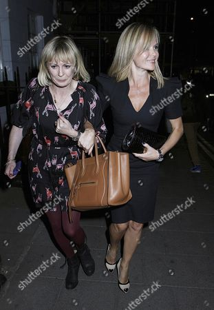 Editorial picture of Amanda Holden at Little House restaurant, London, Britain - 18 Sep 2012