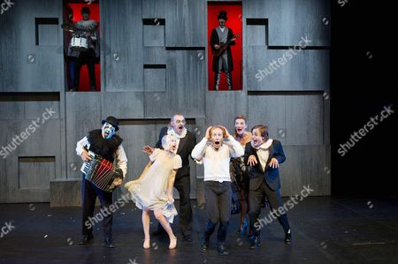 Editorial photo of 'Tiger Lillies Perform Hamlet' at the Queen Elizabeth Hall, Southbank Centre, London, Britain - 18 Sep 2012
